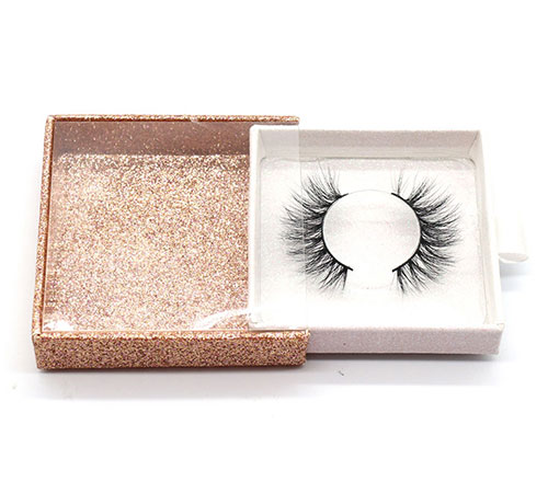 custom false lashes packaging box